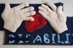 """With These Hands  62"""" x 49"""" (2020) (Available)"""