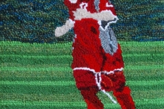 """""""Soccer Star"""" 11"""" x 14"""" (2016) (Private Collection)"""