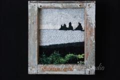 """Black Sand at Vik, Iceland (2013) 12"""" x 15.5"""" (Sold)"""